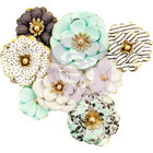 Prima Marketing -  Flirty Fleur Paper Flowers, Goldkiss