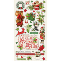 Simple Stories - Simple Vintage Christmas Chipboard Stickers 6