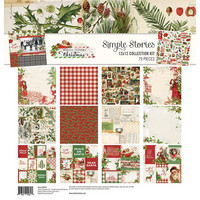 Simple Stories - Collection Kit, Simple Vintage Christmas, 12