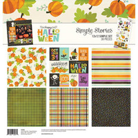 Simple Stories - Collection Kit, Happy Halloween, 12
