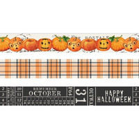 Simple Stories - Carpe Diem Simple Vintage Halloween, Washi Tape, 3 rullaa