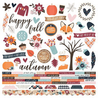 Simple Stories - Forever Fall Cardstock Stickers 12