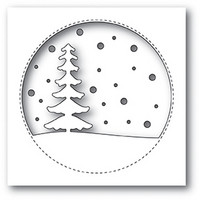 Memory Box - Snowy Tree Circle, Stanssi