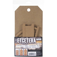 Tim Holtz - Etcetera Tombstone Overlay, Small
