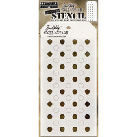 Tim Holtz - Layered Stencil, Shifter Dots