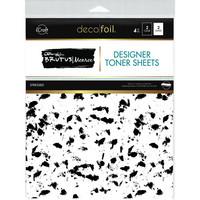Deco Foil - Brutus Monroe Deco Foil Toner Sheets, Stressed, 8,5