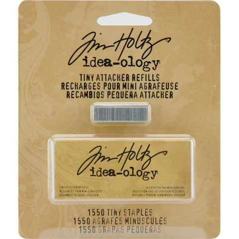 Tim Holtz - Idea-Ology Tiny Attacher Refill Staples, Niitit