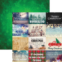 Christmas Spirit Double-Sided Cardstock 12