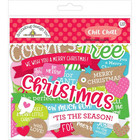 Doodlebug - Christmas Town Chit Chat, Odds & Ends Die-Cuts, 110 osaa