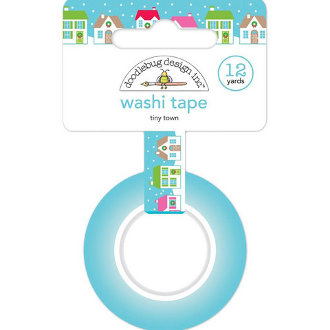 Doodlebug - Washi Tape, Tiny Town, 15mmX11m
