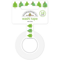 Doodlebug - Washi Tape, Wee Trees, 15mmX11m