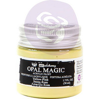 Prima Marketing - Finnabair Art Alchemy Acrylic, Opal Magic Yellow-Pink