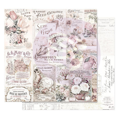 Prima Marketing -  Lavender Frost Foiled, My Lovely Garden, 12