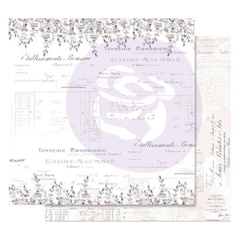 Prima Marketing -  Lavender Frost Foiled, My Confession, 12