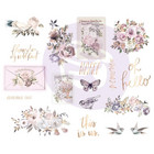 Prima Marketing - Lavender Frost Chipboard Stickers, 5