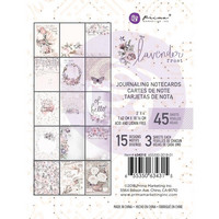 Prima Marketing - Lavender Frost Journaling Notecards, 3