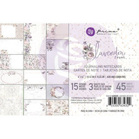 Prima Marketing - Lavender Frost Journaling Notecards, 4