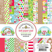 Doodlebug - Christmas Town, Double-Sided Paper Pad 6