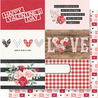 Simple Stories - Kissing Booth Double-Sided Cardstock 12