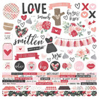 Simple Stories - Kissing Booth Cardstock Stickers 12