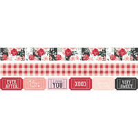 Simple Stories - Carpe Diem Kissing Booth, Washi Tape, 3 rullaa