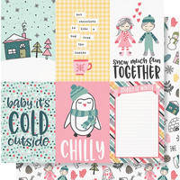 Simple Stories - Freezin' Season Double-Sided Cardstock 12