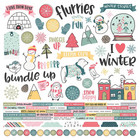 Simple Stories - Freezin' Season Cardstock Stickers 12