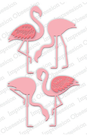 Impression Obsession - Flamingo Set, Stanssisetti
