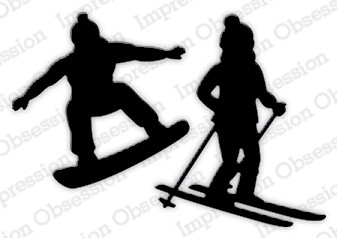 Impression Obsession - Skier & Snowboarder, Stanssisetti