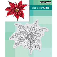 Penny Black - Christmas Poinsettia, Leima