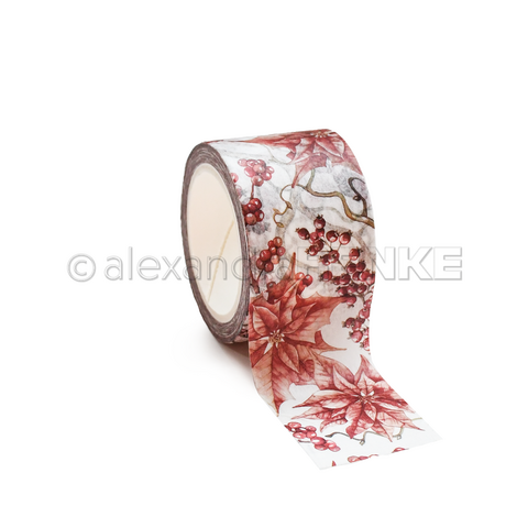 Alexandra Renke - Red Winter Rose Washiteippi, 30mmx10m