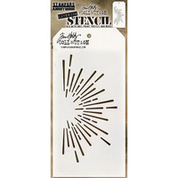 Tim Holtz - Layered Stencil, Burst