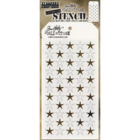 Tim Holtz - Layered Stencil, Shifter Stars