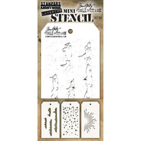 Tim Holtz - Mini Layered Stencil, Set #38
