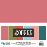 Echo Park - Double-Sided Solid Cardstock 12