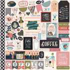 Echo Park - Coffee Cardstock Stickers 12