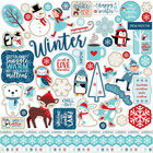 Echo Park - Celebrate Winter Cardstock Stickers 12