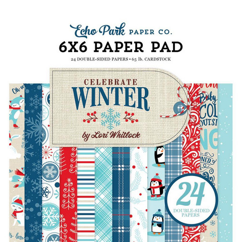 Echo Park - Celebrate Winter Double-Sided Paper Pad 6