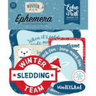 Echo Park - Celebrate Winter Cardstock Die-Cuts, Leikekuvia, Icons, 33 kpl