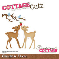 Cottage Cutz - Christmas Fawns, Stanssisetti