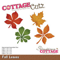 Cottage Cutz - Fall Leaves, Stanssisetti