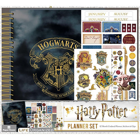 Paper House - Harry Potter 12-Month Planner Set