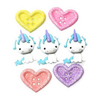 Dress It Up - Unicorn Love, Koristenappisetti