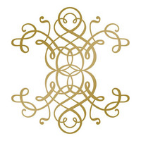 Couture Creations  - Hotfoil Stamp, Curling Motif