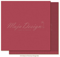 Maja Design - Monochromes, Shades of Christmas, Vintage Red