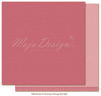 Maja Design - Monochromes, Shades of Christmas, Vintage Red Light