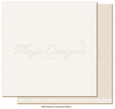Maja Design - Monochromes, Shades of Christmas, White