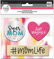 MAMBI - Happy Planner, Super Mom Planner Patches
