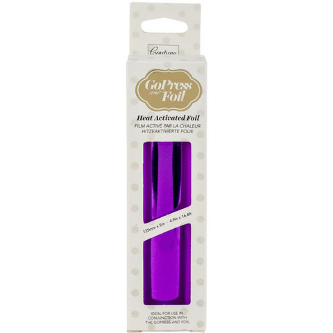 Couture Creations - Go Press and Foil, Deep Purple-Mirror Finish (H), 5
