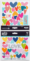 Illustrated Faith - His Love Stickers, Tarrasetti